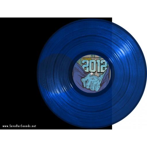 DJ Overdose - 2012 EP (Lunar Disko) 12'' vinyl