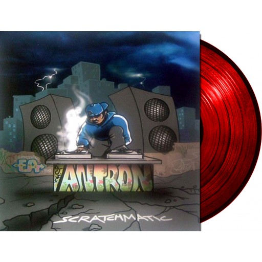 "Antron - Earthquake 12"" vinyl"