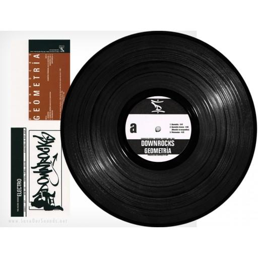 "Downrocks - Geometria (Beathazard Recordings) 12"" vinyl"