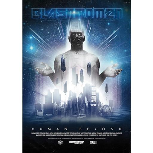 Blastromen - Human Beyond (MEGA poster) Dominance Electricity