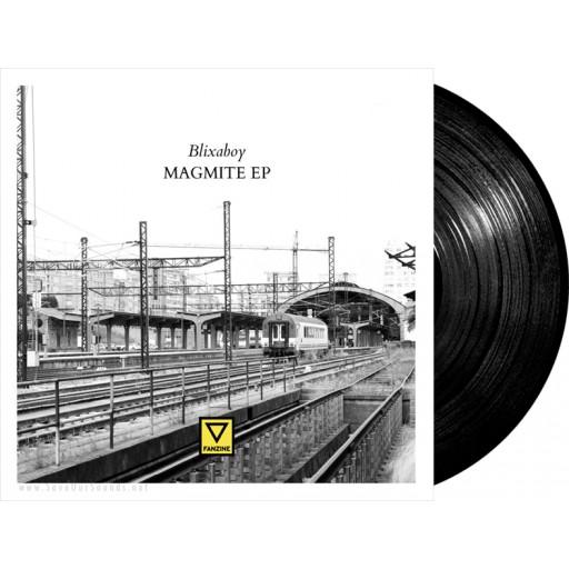 """Blixaboy - Magmite EP (Fanzine Records) 12"""" vinyl"""