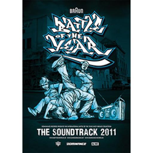 BOTY Soundtrack 2011 (poster)