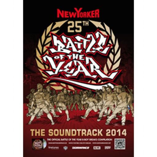 BOTY Soundtrack 2014 (poster)
