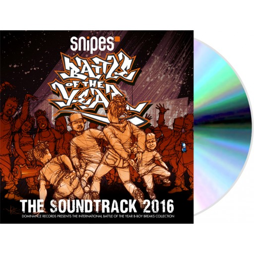 Battle Of The Year 2016 - The Soundtrack (CD)