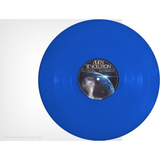 DJ Di'jital & DJ Maaco - Alien Revolution (Di'jital Axcess) 12'' blue vinyl