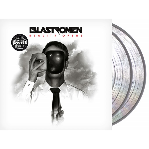 "Blastromen - Reality Opens (2x12"" clear vinyl)"