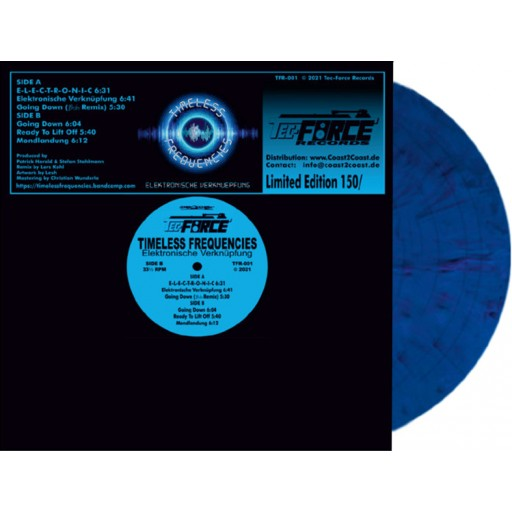 Timeless Frequencies - Elektronische Verknuepfung (Tec-Force Records) 12''