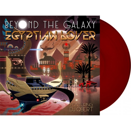"Egyptian Lover - Beyond The Galaxy (Egyptian Empire) red 12"" vinyl"
