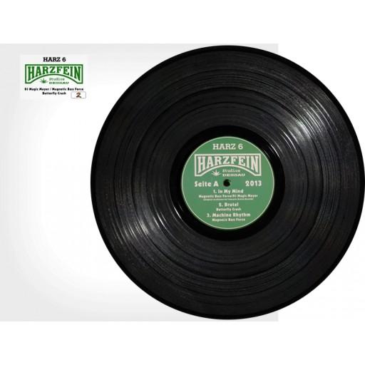 DJ Magic Mayer & Magnetic Bass Force & Butterfly Crash (Harzfein Records) 12 inch vinyl