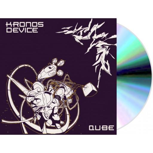 Kronos Device (Bass Junkie & The Dexorcist) - Qube (Battle Trax) CD