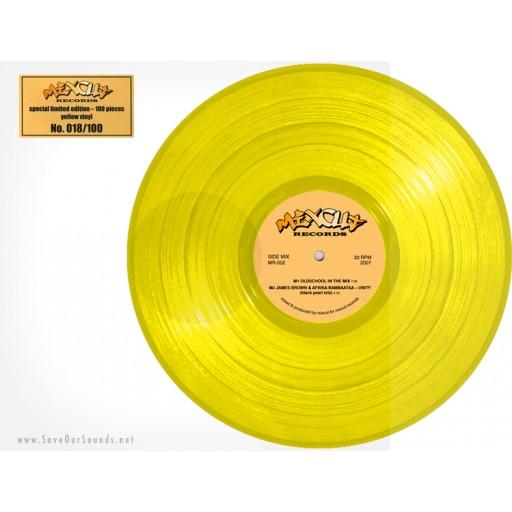 Mixcut & Cameron Paul ''Oldschool In The Mix'' (clear yellow vinyl) Mixcut Records