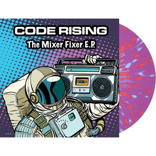 Code Rising - The Mixer Fixer E.P. (Propulsion Records) 12'' color vinyl