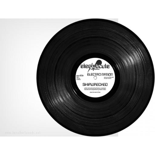 """Electro Nation - Shipwrecked (Electrocute) 12"""" vinyl"""