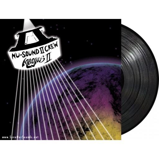 Nu Sound II Crew / Magnus II - Split EP (Dark Entries) 12'' vinyl backside