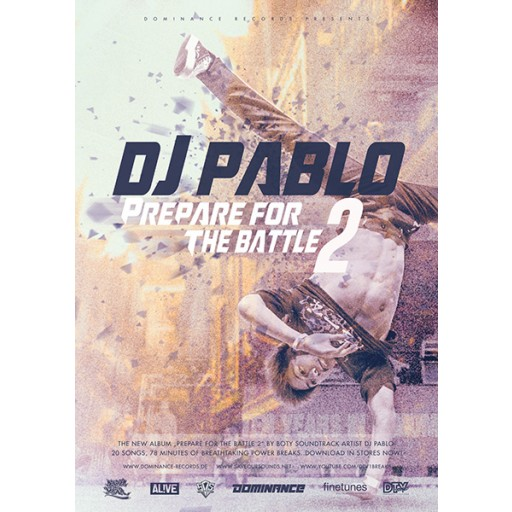 DJ Pablo - Prepare For The Battle 2 (MEGA poster)