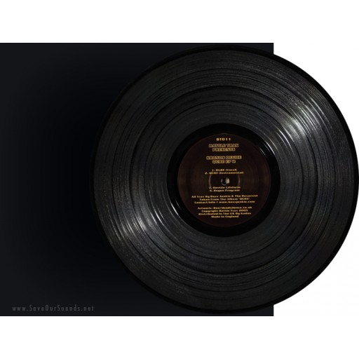 Kronos Device (Bass Junkie & The Dexorcist) - Qube EP 2 (Battle Trax) 12''