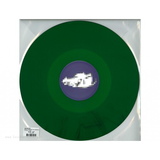 "Rod Malmok - Back To Square One - Remixes (Rod Malmok) 12"" clear green"