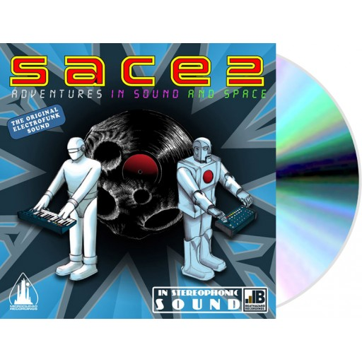 Sace 2 ‎- Adventures In Sound And Space (Microciudad Recordings) CD
