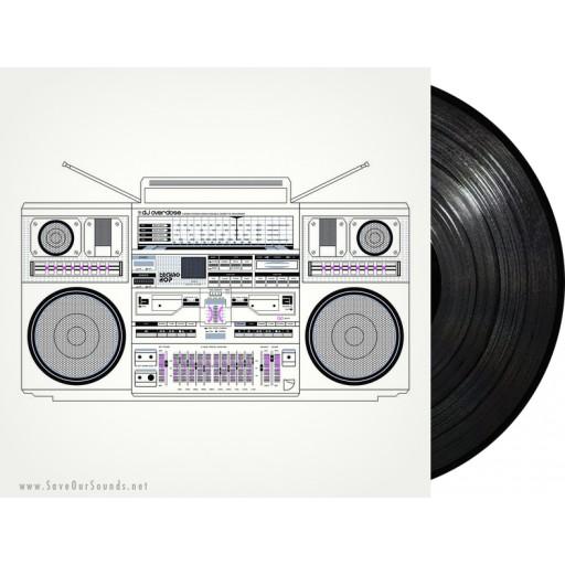 DJ Overdose - Techno Hop (Neon Finger) 12'' vinyl