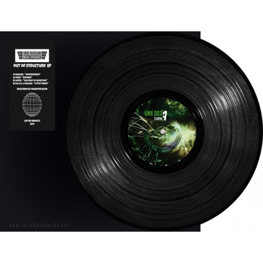 Various - Out Of Structure EP (Underground Music Xperience) 12''