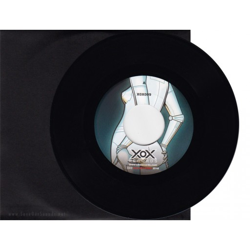 """Suiciders / Type-303 - Sex Mask / Rub-A-Duck (X0X Records) 7"""" vinyl"""