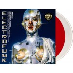 """Various - Electrofunk Resistance (Dominance Electricity) 2x12"""" clear & red"""