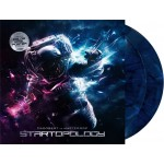 "Dagobert vs MasterArp - Startopology (Dominance Electricity) 2x12"" marbled blue"