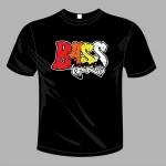 Bass Junkie t-shirt (L) front view
