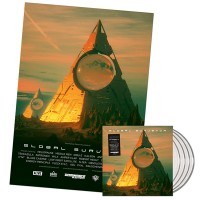 "V/A - Global Surveyor: Phase 4 (Dominance Electricity) 4x12"" clear vinyl + MEGA poster"