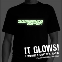 Dominance Electricity luminous t-shirt (black / white)