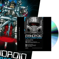 Mandroid - Futurefunk EP (CD + MEGA poster) Dominance Electricity