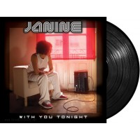 "Janine ‎- With You Tonight ((Microciudad Recordings) 12"" vinyl LP"