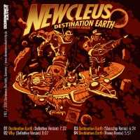 Newcleus - Destination Earth (sticker) Dominance Electricity