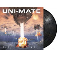 "Uni-Mate ‎- Save The Planet (Microciudad Recordings) 12"" vinyl LP"