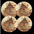 Egyptian Lover - 1984 album vinyl labels