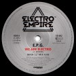 EPG - We Are Electro (Electro Empire Records) 12'' vinyl