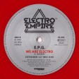 "EPG - We Are Electro (Electro Empire) 12"" red vinyl"
