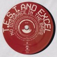 T.E.S.T. & Excel - No Disgrace In The Bass (Exceleration Records) 12''