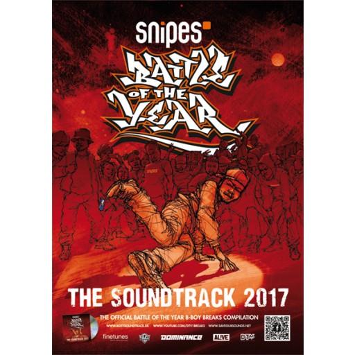 BOTY Soundtrack 2017 (poster)