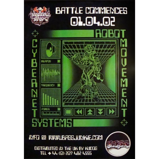 Cybernet Systems - Robot Movement (Battle Trax) Poster