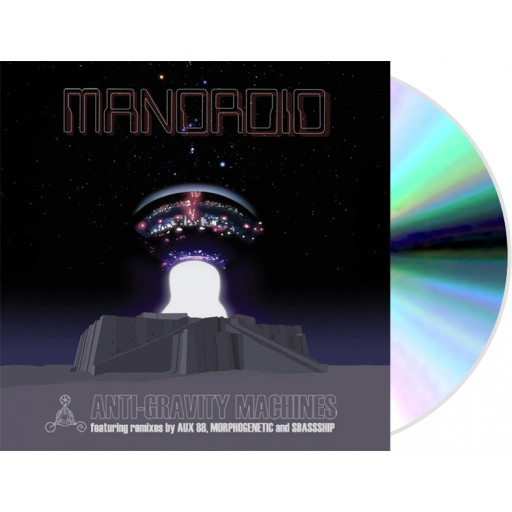 Mandroid - Anti-Gravity Machines (FBI Recordings) CD