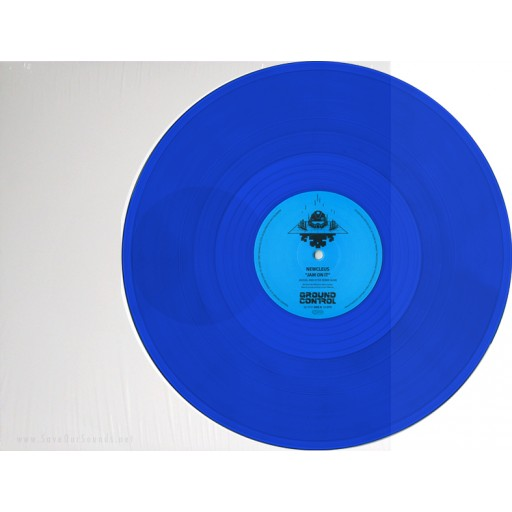 Newcleus - Jam On It / Teknology Remixes (Ground Control) 12'' blue