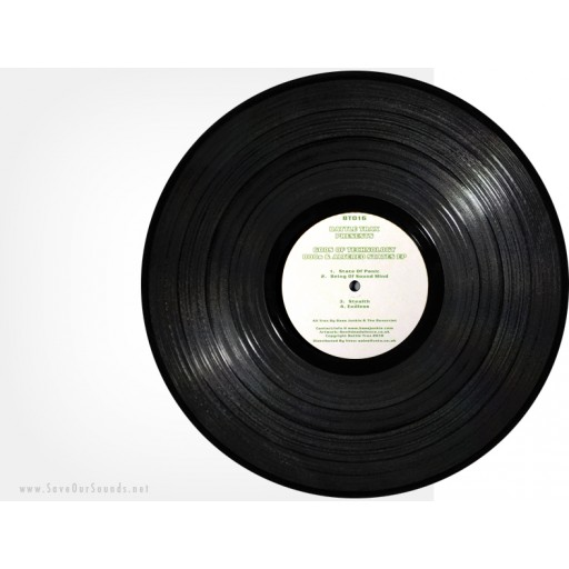 Gods Of Technology - 808s & Altered States EP (Battle Trax) 12''