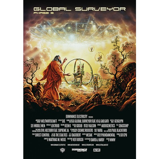 V/A - Global Surveyor: Phase 3 (Dominance Electricity) poster