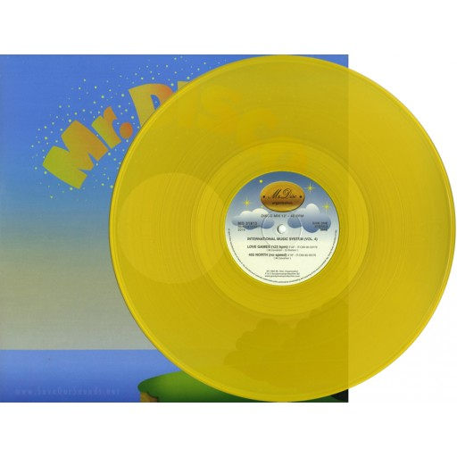 I.M.S. - International Music System 4 (remastered) (Mr. Disc Organization) 12'' yellow
