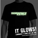 Dominance Electricity t-shirt 'Glow in the dark' (black / white)