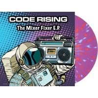 Code Rising - The Mixer Fixer E.P. (Propulsion Records) 12'' color