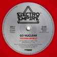 "Go Nuclear - Techno World (Electro Empire) 12"" red vinyl"